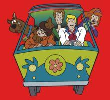 Scooby Doo Cartoon Funny 3 Kids Clothes