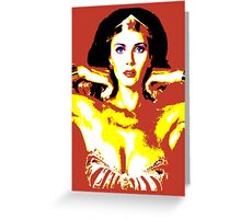 Psychedelic Wonder Greeting Card