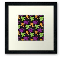 Colorful background Framed Print