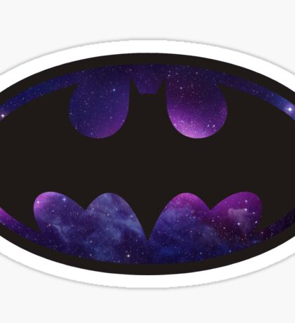 Batman Logo - Galaxy Sticker