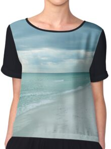 Florida Beach Chiffon Top