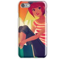 Beach Reading iPhone Case/Skin