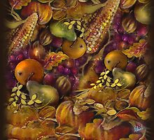 Fruits of Plenty Design by Robin Pushe'e