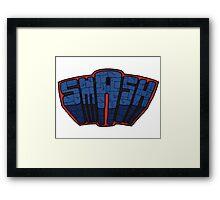 // SmAsh // Don't Stop Superheroes // Ashton // Framed Print