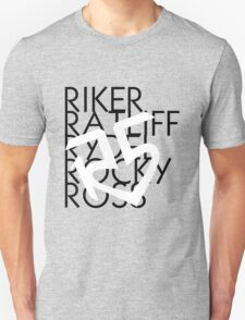 R5 Names With Logo T-Shirt