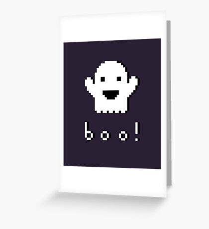 Happy Ghost Greeting Card