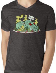 Cthulhu Dinner II Mens V-Neck T-Shirt