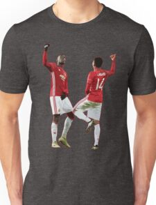 Pogba Lingard Dance Celebration Unisex T-Shirt