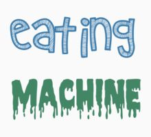 EATING MACHINE Kids Tee