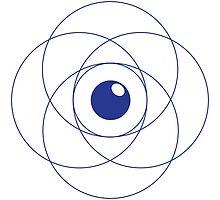 Erudite Eye - Blue by MusicandWriting