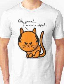 Grumpy cat on shirt T-Shirt