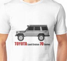 TOYOTA Land Cruiser 70 Series HZJ77 (side) Unisex T-Shirt