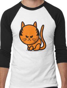 A grumpy cat Men's Baseball ¾ T-Shirt