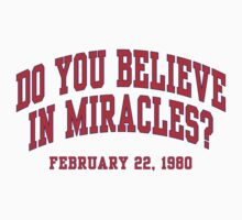 Do You Believe In Miracles? Kids Clothes
