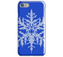 D.W. Evil Snowflake - Knitted iPhone Case/Skin
