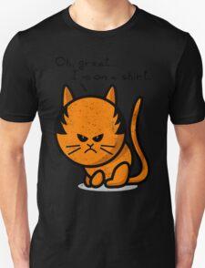 Grumpy cat worn out on shirt Unisex T-Shirt