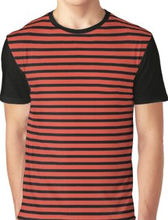 Fiesta and Black Stripes Graphic T-Shirt