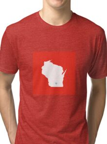 Wisconsin Love Tri-blend T-Shirt