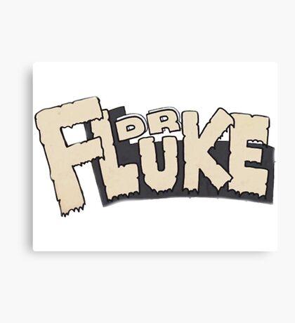 // Dr Fluke // Don't Stop Superheroes // Luke // Canvas Print
