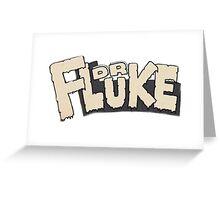 // Dr Fluke // Don't Stop Superheroes // Luke // Greeting Card