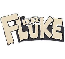 // Dr Fluke // Don't Stop Superheroes // Luke // Photographic Print