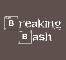 Breaking Bash - White by geek-art-uk