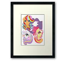 Rainbow Power - CMC Framed Print