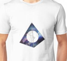 Lost World in Galaxy Pyramid Unisex T-Shirt