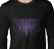 Purple Phantasm Long Sleeve T-Shirt