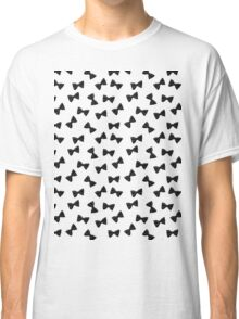 Many (tiny!) Bow Ties- Black Classic T-Shirt
