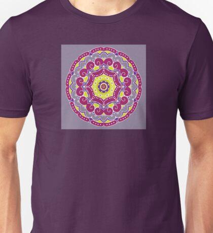 Violet mandala Unisex T-Shirt