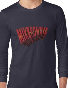 // Mike-Ro-Wave // Don't Stop Heroes // Michael // Long Sleeve T-Shirt