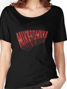 // Mike-Ro-Wave // Don't Stop Heroes // Michael // Women's Relaxed Fit T-Shirt