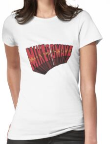 // Mike-Ro-Wave // Don't Stop Heroes // Michael // Womens Fitted T-Shirt