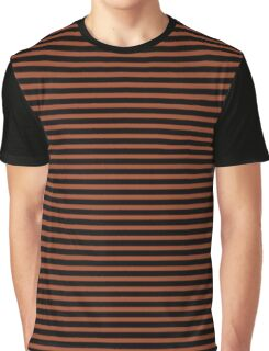 Potter's Clay and Black Stripes Graphic T-Shirt