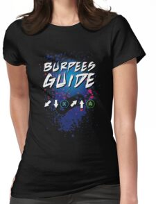 Burpees Guide Womens Fitted T-Shirt