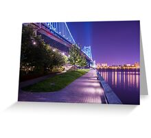 Race Street Pier - Philadelphia, PA Greeting Card