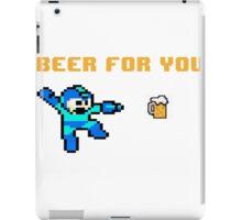 Megaman Beer iPad Case/Skin