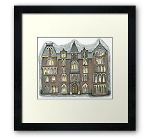 pendle hall Framed Print