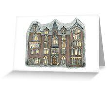 pendle hall Greeting Card