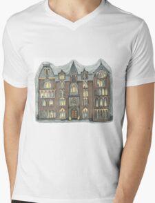 pendle hall Mens V-Neck T-Shirt