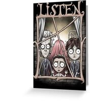 Listen Greeting Card