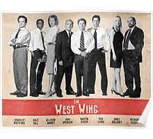 The West Wing Retro Poster Poster