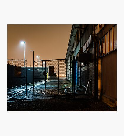 Wet Alley Photographic Print