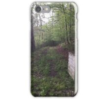 Let's Follow That Trail! iPhone Case/Skin