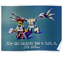 Flee the machine has a mind of it's own!! Poster