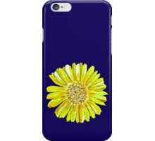 Bright and big yellow flower iPhone Case/Skin