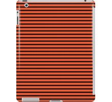 Flame and Black Stripes iPad Case/Skin