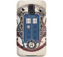 crest of the knight of fandom (a LOT of fandoms actually ;) Samsung Galaxy Case/Skin