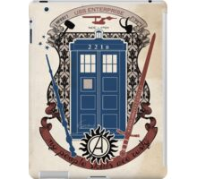 crest of the knight of fandom (a LOT of fandoms actually ;) iPad Case/Skin
